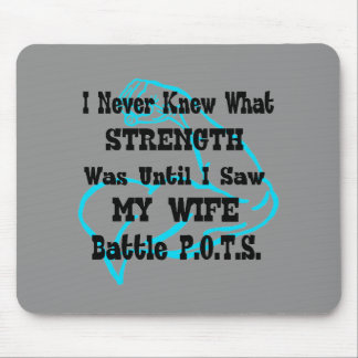 Muscle/I Never Knew...Wife Mouse Pad