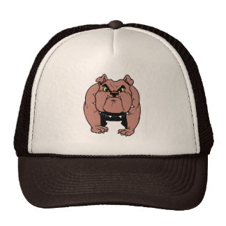Muscled Bulldog Hat