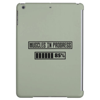 Muscles in Progess workout  Zpf7n iPad Air Case