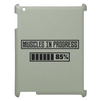 Muscles in Progess workout  Zpf7n iPad Case