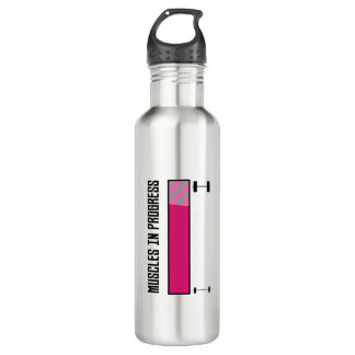Muscles in Progress GYM Z21z3 710 Ml Water Bottle