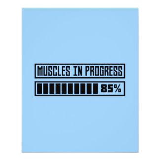 Muscles in progress Workout Z8gnr 11.5 Cm X 14 Cm Flyer