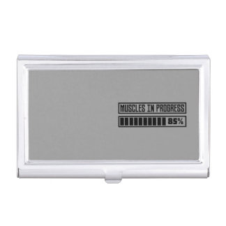 Muscles in progress Workout Z8gnr Business Card Holder