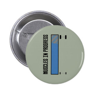 Muscles in progress workout Z8jh1 6 Cm Round Badge