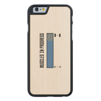 Muscles in progress workout Z8jh1 Carved Maple iPhone 6 Case