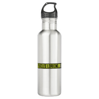 Muscles Loading Progressbar Zqy9t 710 Ml Water Bottle