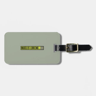 Muscles Loading Progressbar Zqy9t Luggage Tag
