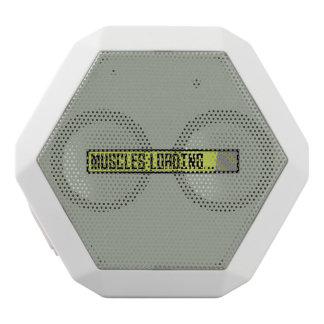 Muscles Loading Progressbar Zqy9t White Bluetooth Speaker