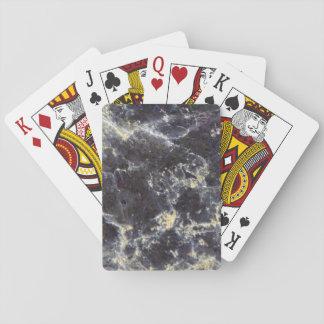 Muscovite Mica Closeup Photo Poker Deck