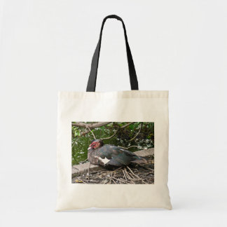 Muscovy duck canvas bags