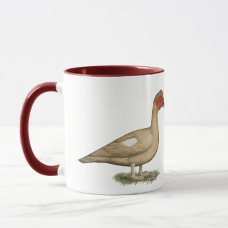 Muscovy Light Chocolate Drake Mug