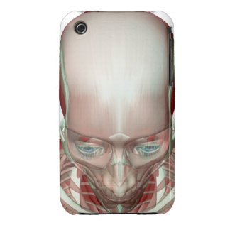 Musculoskeleton of the Head and Neck iPhone 3 Case-Mate Case