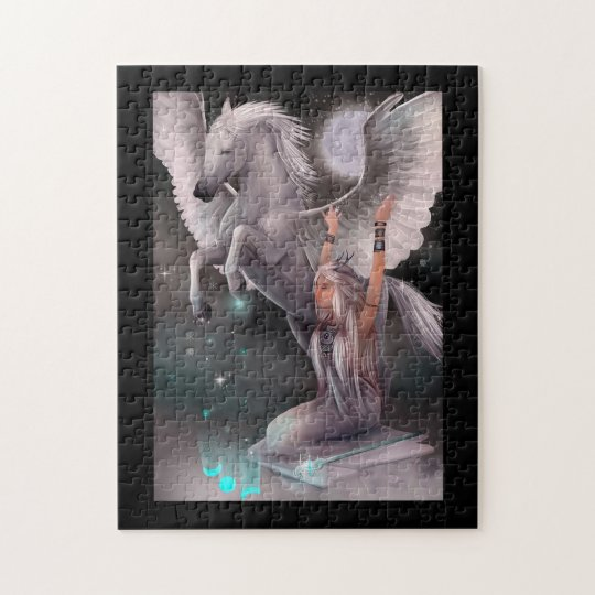 Muse and Pegasus Puzzle