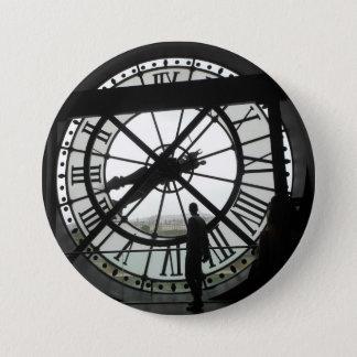 Musée d'Orsay Clock badge