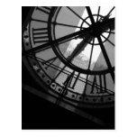 Musee d'Orsay Clock Postcard
