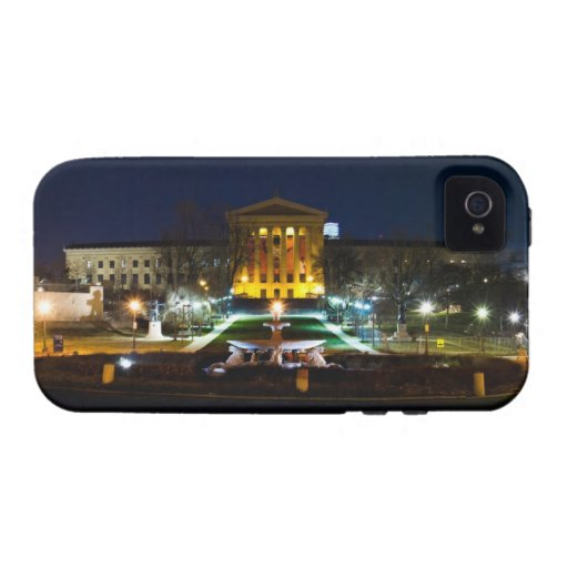 Museum at Night Vibe iPhone 4 Cover