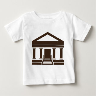 Museum Bank Government Building Icon Baby T-Shirt
