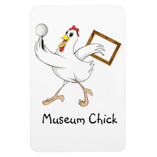 Museum Chick - Magnet