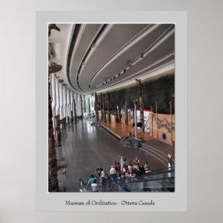 Museum of Civilization - Main Hall Print