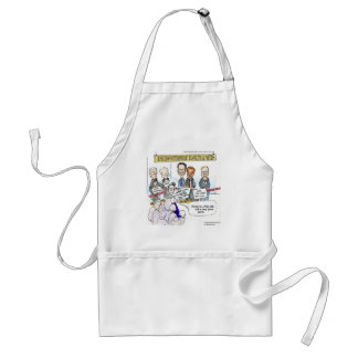 Museum Of Ex Political Parties Funny Gifts & Tees Standard Apron