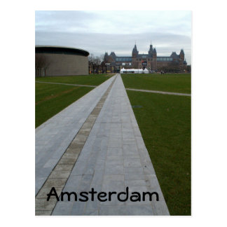 Museumplein, Amsterdam Postcard