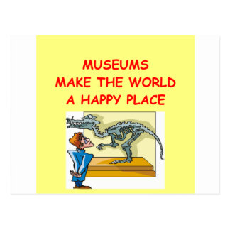 museums postcard