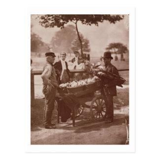 Mush Faker and Ginger Beer Maker, from 'Street Lif Postcard