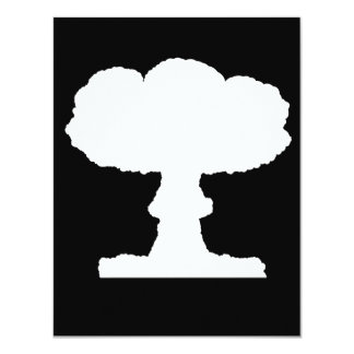 Mushroom Cloud Invitations