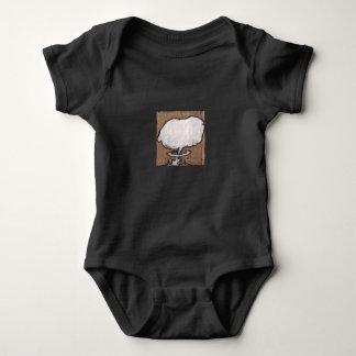 Mushroom Cloud One Baby Bodysuit