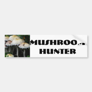 Mushroom Cluster - Photograph Car Bumper Sticker