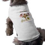 Mushroom Fairy Garden Sleeveless Dog Shirt