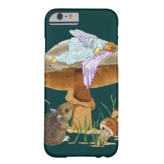 Mushroom Fairy & Mouse Barely There iPhone 6 Case