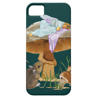 Mushroom Fairy & Mouse iPhone 5 Covers
