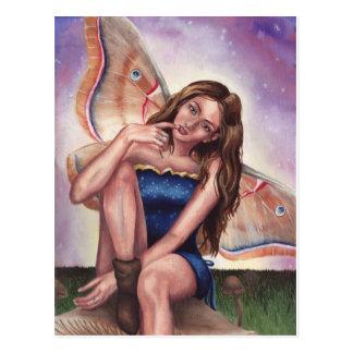 Mushroom Fairy - Postcard