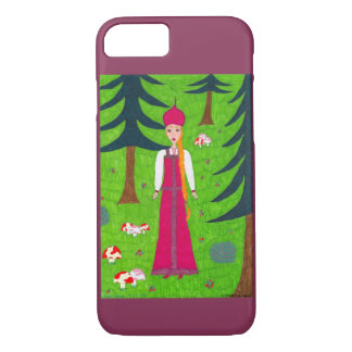 Mushroom Forest iPhone 7 Case