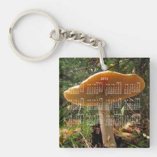 Mushroom Giant 2013 Calendar Acrylic Keychain
