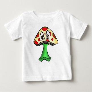 Mushroom Head Design Baby T-Shirt