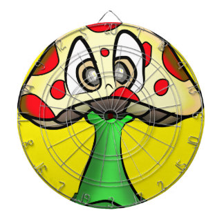 Mushroom Head Design Dartboard