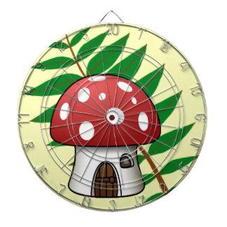 Mushroom House Dart Boards