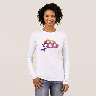 Mushroom House Long Sleeve T-Shirt