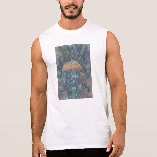 Mushroom in the Rain Sleeveless Shirt