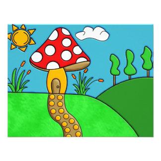 Mushroom Custom Announcement