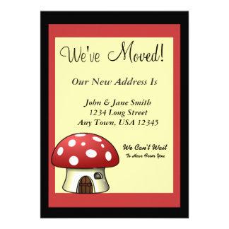 Mushroom Moving Announcement