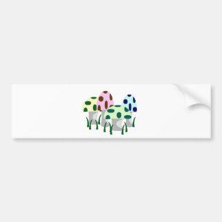Mushroom Patch Bumper Sticker