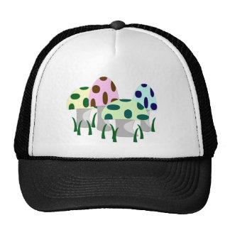 Mushroom Patch Mesh Hat