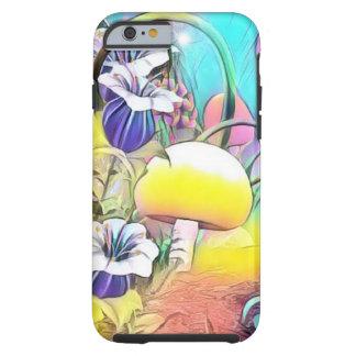 Mushroom path iphone case