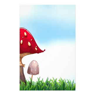 Mushroom Personalised Stationery