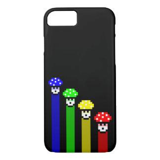 Mushroom Rainbow iPhone 7 Case