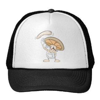 Mushroom Shirts - Mushroom Chef Baker Dough Mesh Hats