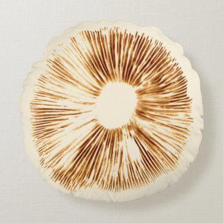 Mushroom spore print pillow